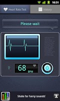 Screenshot of Heart Rate Tester