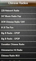 Screenshot of Chinese Radio Chinese Radios