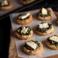 Spinach And Feta Tartlets