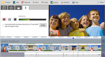 Screenshot of VideoPad Master's Edition