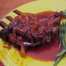 Slow cooked BBQ Ribs (for crock pot)