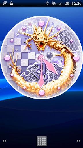 弥勒菩薩☆龍神時計