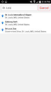 STLtaxi - screenshot