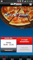 Screenshot of Pizza Express Hradec Králové