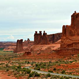 by Becky Holmes - Landscapes Deserts ( desert, rock formation, landscapes, landscape, rocks )