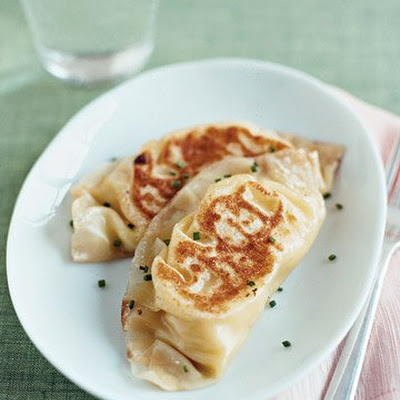 Potato and Garlic Pierogi
