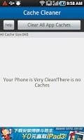Screenshot of App Cache Cleaner