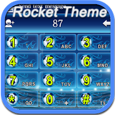 Rocket World Cup Blue Theme
