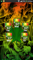 Screenshot of Weed Widget Pack