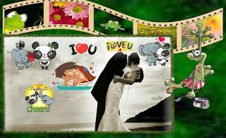 Screenshot of Cartoon & Animal Photo Frame