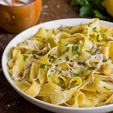 Creamy Braised Chicken with Pappardelle
