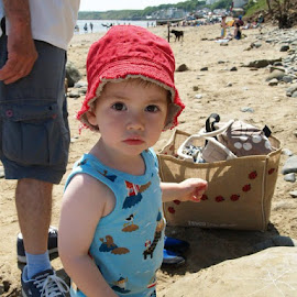 Henry at the seaside by Jenny Whitehouse - Babies & Children Toddlers