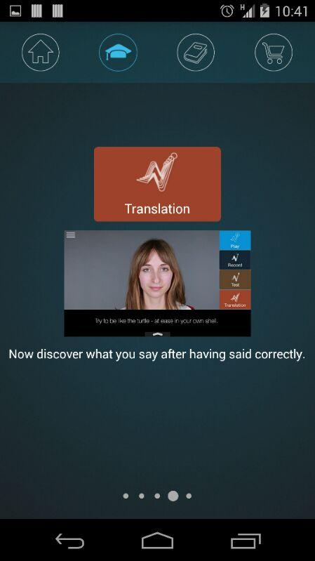 Nativox: your english tutor Screenshot 1