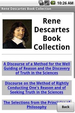 Rene Descartes Book Collection