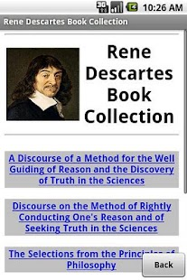 Rene Descartes Book Collection - screenshot