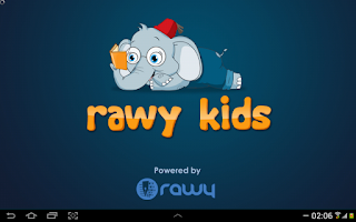 Screenshot of Rawy Kids
