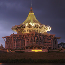 Sarawak State Assembly by Mohammad Azlan Yusop - Buildings & Architecture Office Buildings & Hotels