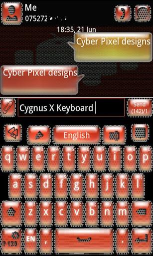 Cygnus X GO Keyboard
