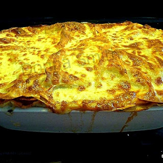 Real Homemade Chicken Lasagne