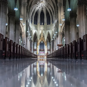 St. Patrick Cathedral by Massimo Izzo - Buildings & Architecture Places of Worship ( church, patrick, cathedral, nyc, ny, usa )