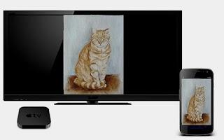 Screenshot of AirPhotos for Apple TV