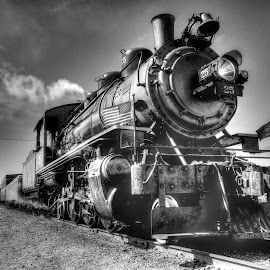 McCloud #25 by Scott Reily - Transportation Trains ( oregon, black and white, train, transportation, fujixt1 )
