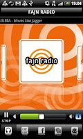 Screenshot of FAJN RADIO