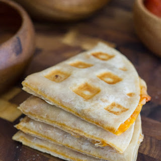 Waffled Pizza Pockets