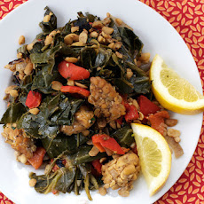 Cozy Collards & Tempeh