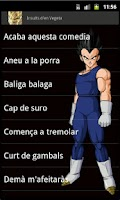 Screenshot of Insults d'en Vegeta