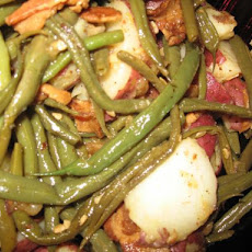 Green Beans, New Potatoes With Bacon