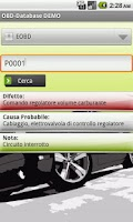Screenshot of OBD-Database Italiano DEMO