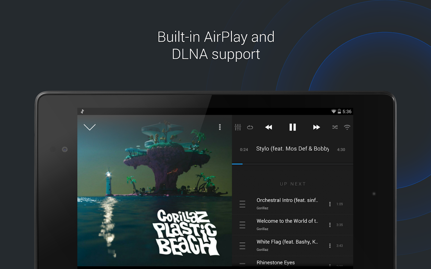 doubleTwist Music Player, Sync Screenshot 7