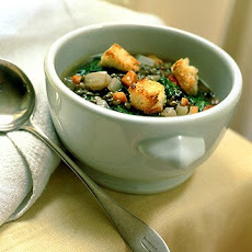Lentil and Escarole Soup