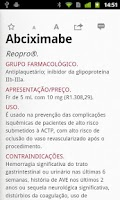 Screenshot of Medicamentos de A a Z