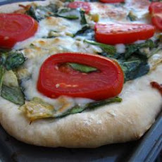 Red, White, and Green Pizza