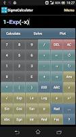 Screenshot of SigmaCalculator
