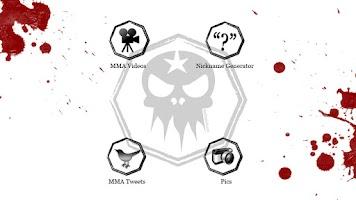 Screenshot of MMA Videos+Nickname Generator