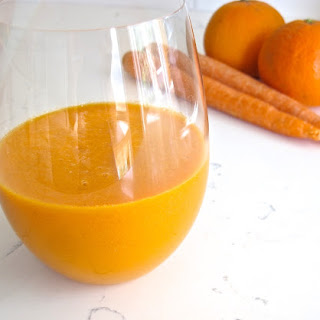 Orange Carrot Ginger Smoothie