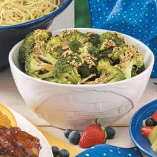 Sesame Lemon Broccoli Recipes