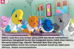Screenshot of Dongeng Mumu ikan Munjahir
