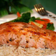 Roasted Salmon Fillets With Irish Whiskey