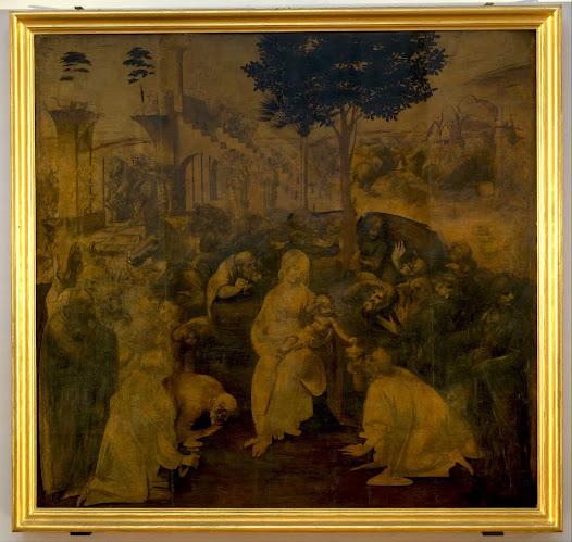 Leonardo, Adorazione dei Magi Cfr. Quattrocento: Lippi e Beato Angelico