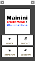 Screenshot of Mainini Arredamenti