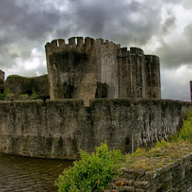 Welsh Castle by Darren Walkey - Buildings & Architecture Public & Historical ( wales, fortress, ruin, castle, medieval,  )