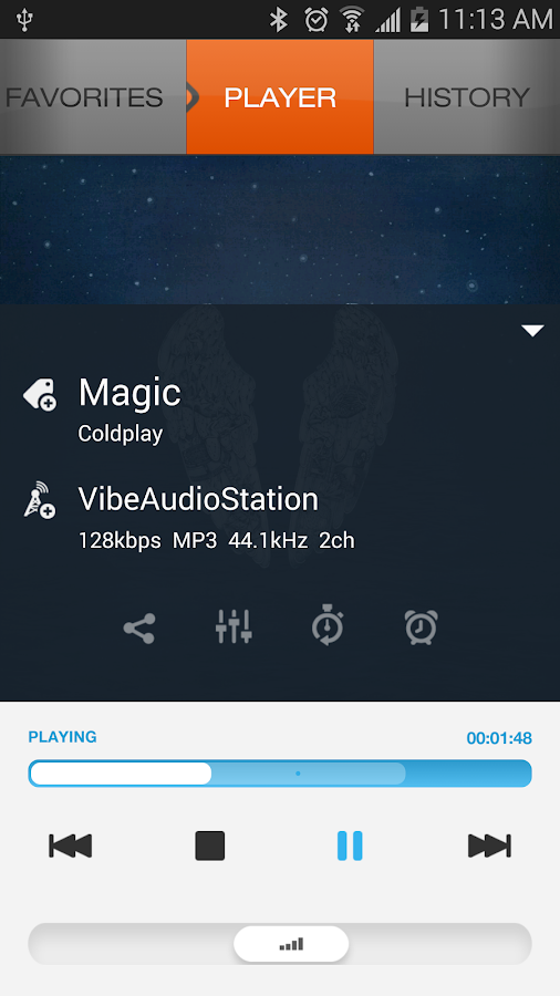 XiiaLive™ Pro - Internet Radio Screenshot 1