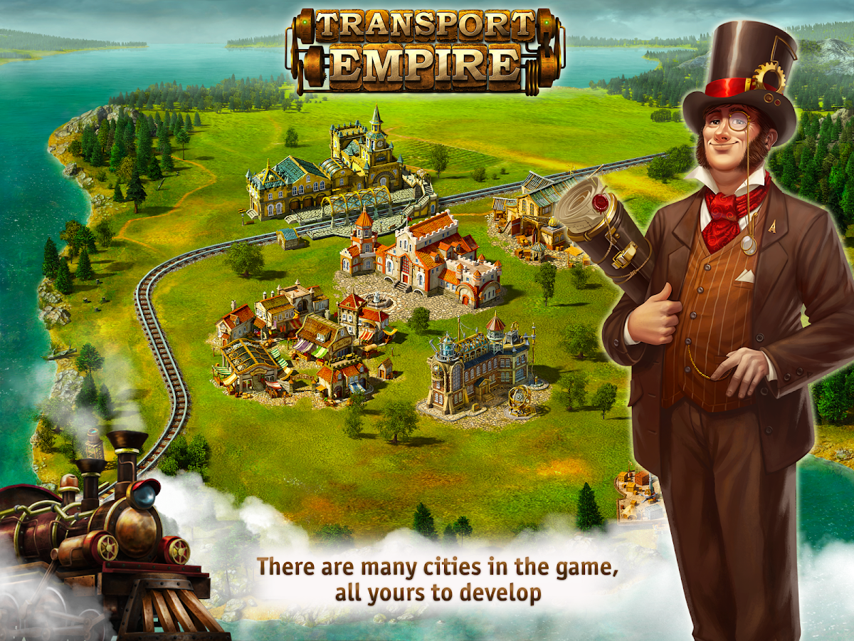 Transport Empire: Steam Tycoon Screenshot 7