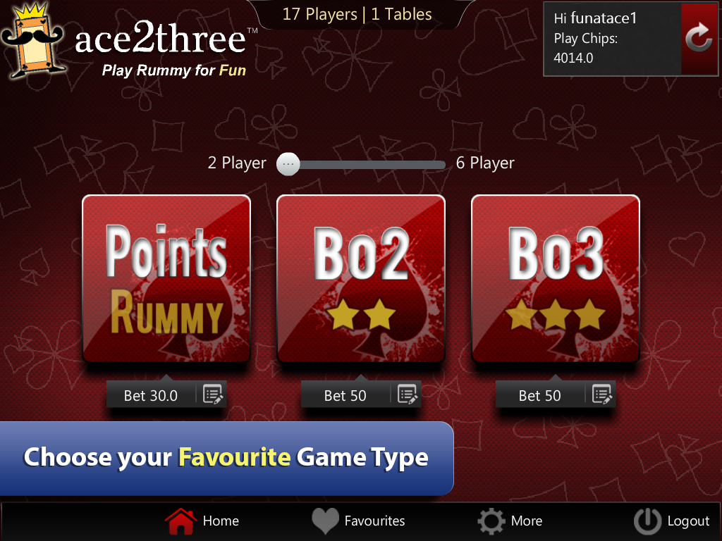 Ace2Three Rummy Screenshot 1