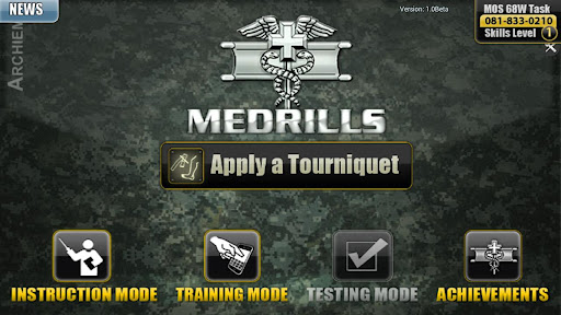 Medrills: Army Tourniquet