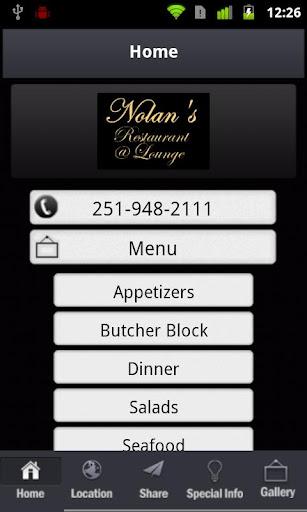 Nolan's Restaurant Lounge